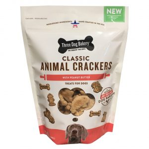 Classic Animal Crackers With Peanut Butter