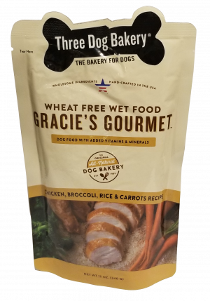 Gracies - ChickenBroccoli - Front - Gourmet Dog Food