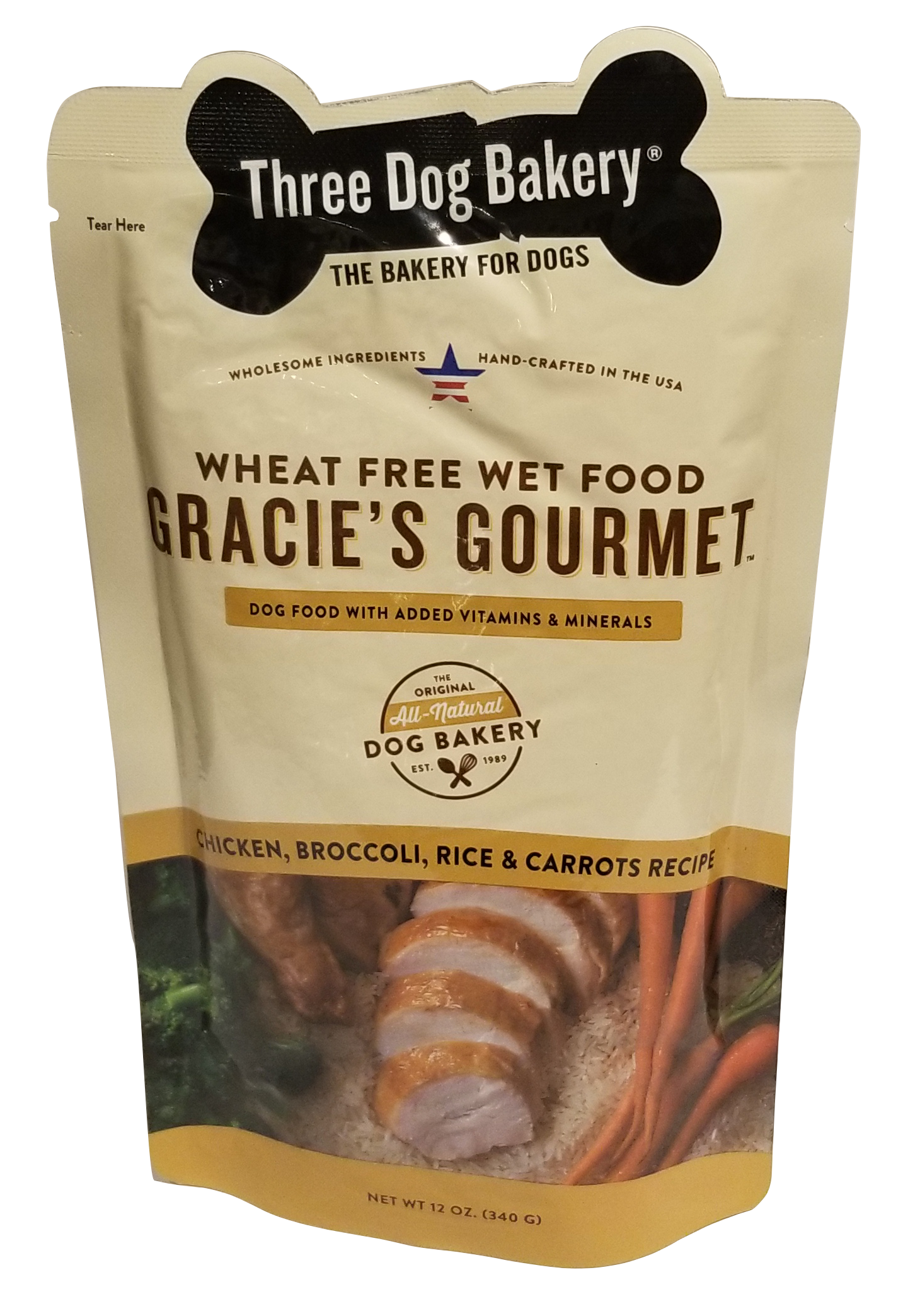 Gracie S Gourmet Entr 233 E For Dogs Chicken Broccoli Rice