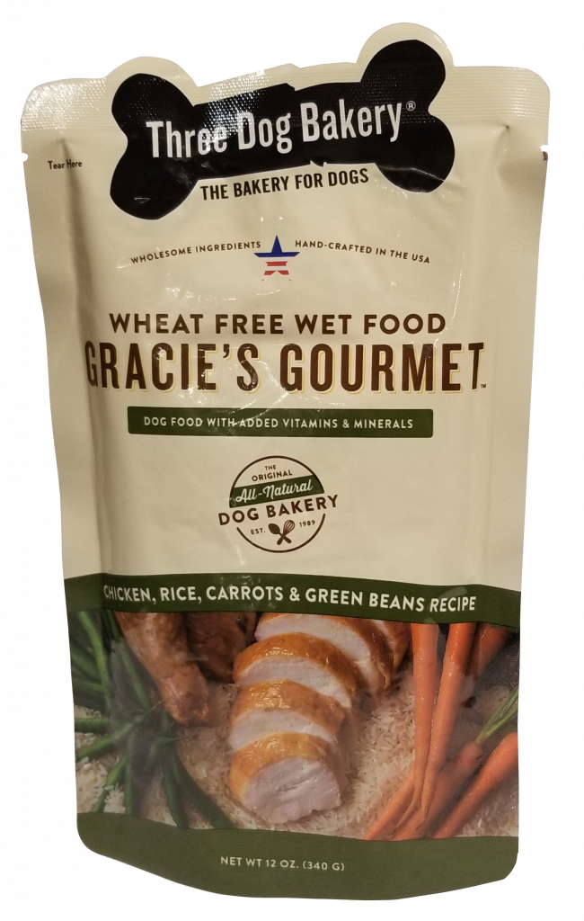 Gracies Gourmet Entre For Dogs Chicken Rice Carrots Green