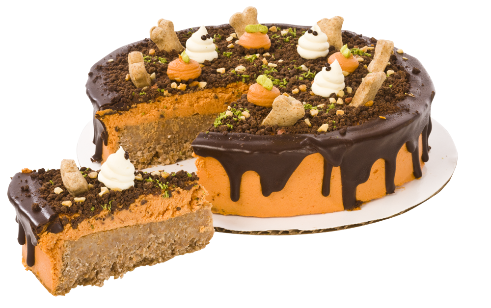 Halloween Cake for Dogs