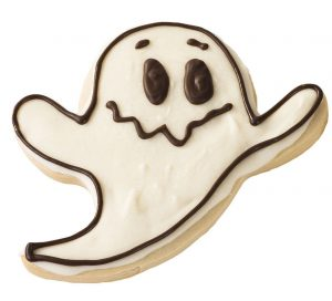 Ghoulish Ghost Cookie