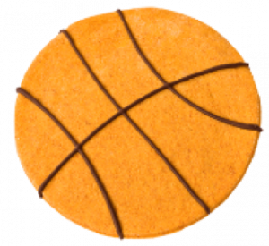 Bassetball Cookie