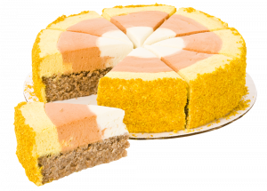 Candy Corn Cake – Grain Free